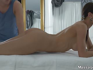 Hot asian kitana - Massage x - kitana lure - passion on massage table