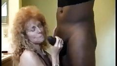 Curly Blonde Slut takes BBC for pleasure