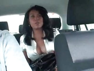 Big free naked tit - Getting a free taxi ride