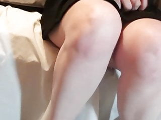 Video finger with condom - Teen bate hairbrush with condom