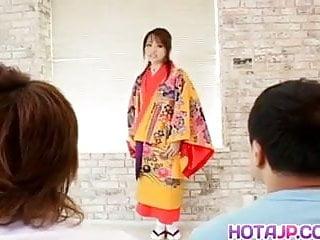 Teens undress fuck boys Miina is undressed of kimono and well fucked