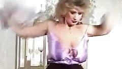 DOWN DOWN - vintage 80's British big boobs strip dance