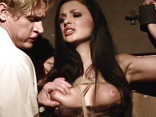 Pornstar hogtied Seductive sex bomb tied up and trained