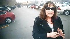 Michelle Purple Toenails