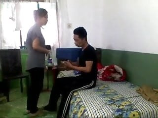Sister brother having sex together - Indian brother and cousine sister play together in home