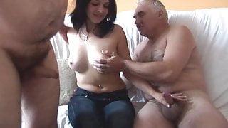 Old Men vs Young Hottie
