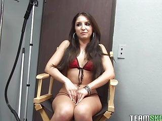 Giselle in a bikini Thisgirlsucks small tits latina teen giselle leon handjob bl