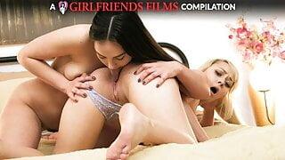 Lesbian Pussy Licking Compilation - GirlfriendsFilms