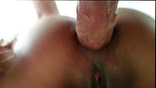 Thai slut anal creampie