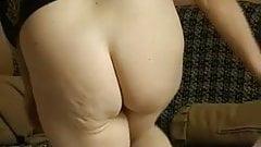 OMAPASS Old granny using dildo at masturbation