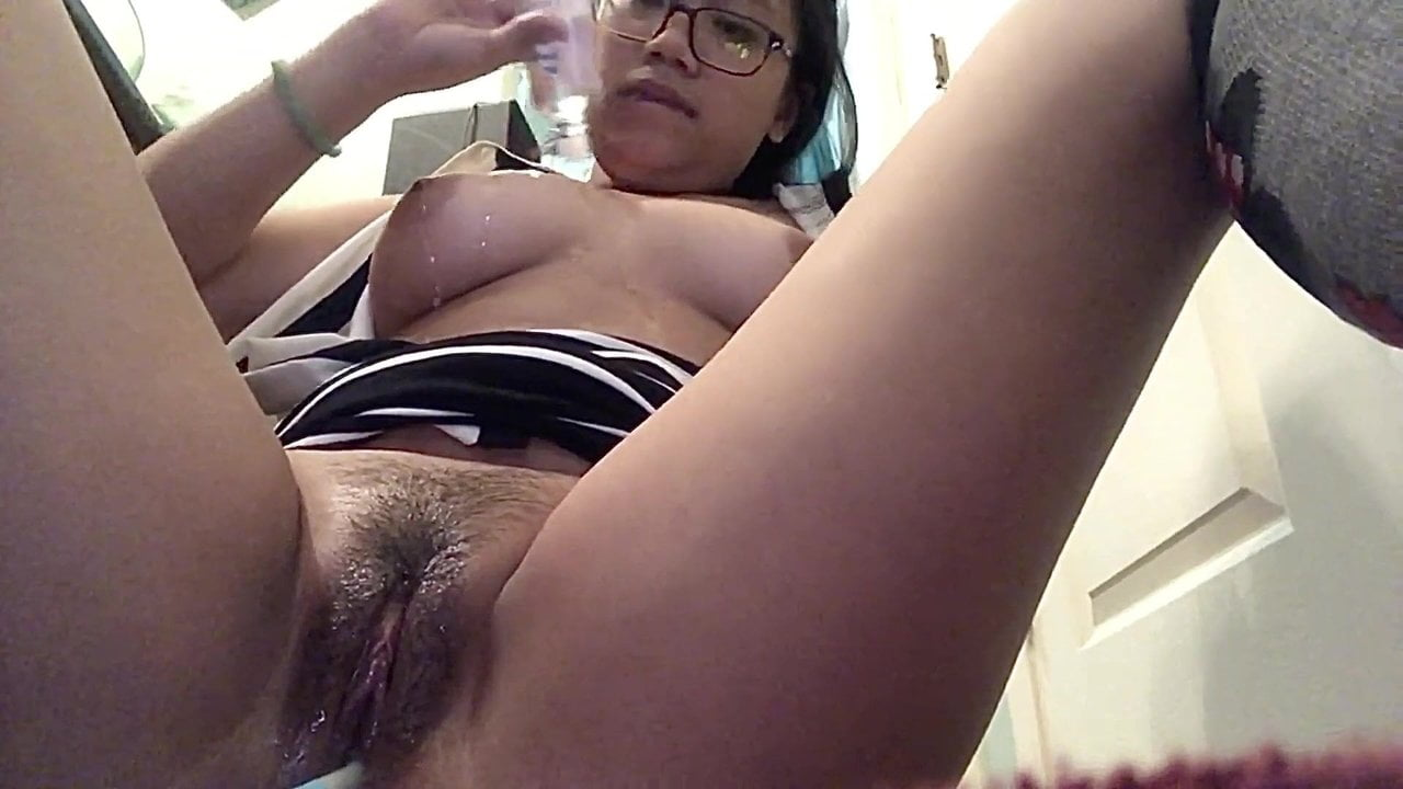 4Foot Tall Little Asian Fucking Both Her Holes
