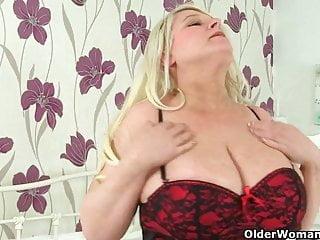 Erin sander nude Big titted and british milf sammy sanders plays with dildo