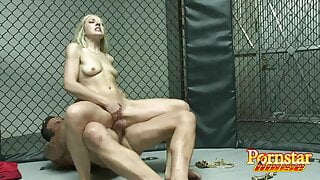 Octagon Cage Fucking With Kylie And Mixed Martial Artist