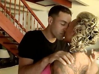 Sexy blonde Sexy blonde tattooed milf fucked by big cock