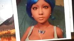 Stroking to my favorite doll Nina