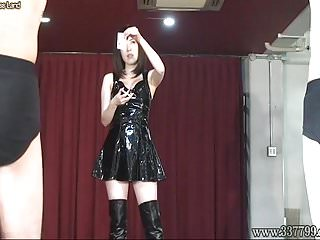 Bondage anal dildo video - Japanese femdom honoka whipping and anal dildo