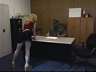 Vintage armstrong ceiling tile Blonde bitch gets roped to the ceiling and spanked hard by masked thug