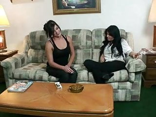 Old tit lesbian Seducing her mommy