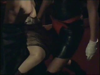 Transvestite slut Mistress strap-on fucks transvestite