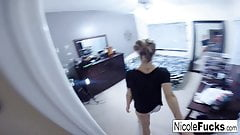 Leaked home movie of Nicole Aniston getting creampied