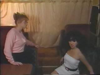 Lesbian seduces friend Seducing her own friend.