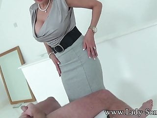 Bev cocks lady sonia Handjob queen lady sonia has another cock to jerk