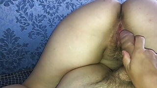 REAL CHEATING reverse cowgirl POV