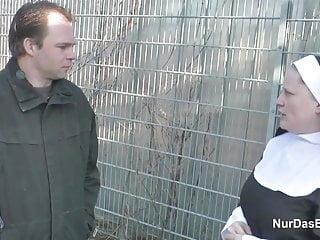 Fuck nun - German young boy seduce granny nun to fuck him