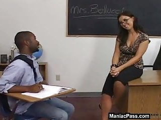 My first sex teacher lesson Sex lesson from a bigtitted milf