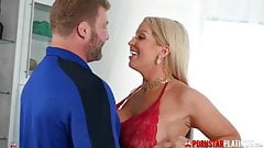 Alura jension breast and fucked