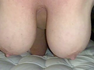 Blonde wife huge boobs Huge boobs