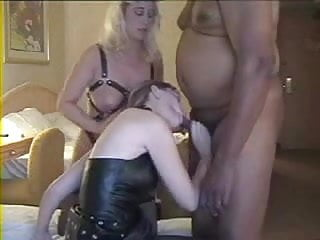 Swinger wife cum - Slaved wife swapping cum with mistress