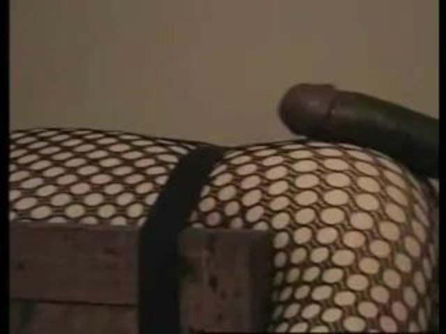 Black Ebony Dildo Masturbation