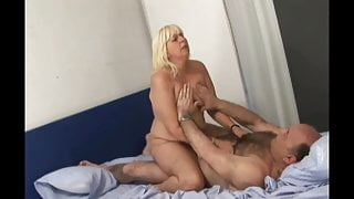 HAIRY BALD OLD MAN FUCK WIFE