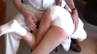 ENF Spanking two old men spanking wife humiliating positions