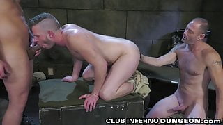 ClubInfernoDungeon - Dylan Strokes Pays Price For Shelter