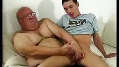 Grandpa and Young Guy
