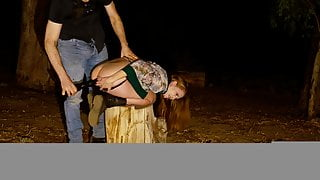 Anal stretching, piss enema, and a dance through the forest