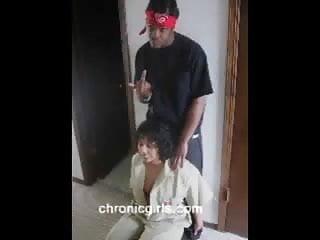 Blow jobs and hard fuckin - Black ghetto nigga fuckin while doing job interview
