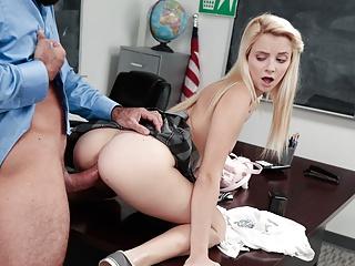 Riley Star - Coge al Profesor Hasta el Orgasmo
