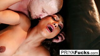 Priya makes her cumback with her 1st onscreen dick in 6