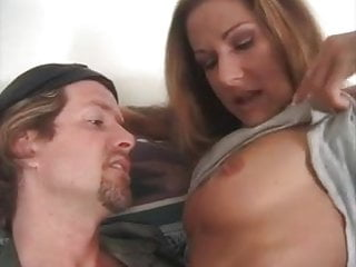 Uh oh thumb - Brunette alexandra silk thumbs a ride -- with her ass