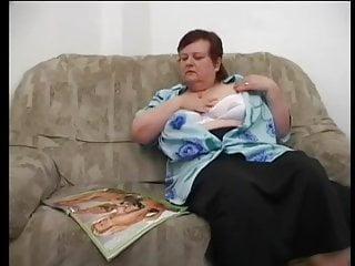Mamas fuck Big mama masturbed with big toy and fucked