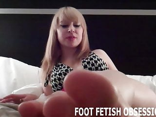 More masturabtion make your dick grow - My feet will make your dick nice and hard