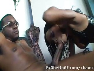 Deepthoat gay Ebony slut deepthoats black monster cock