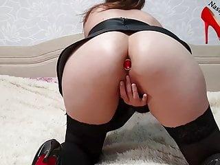 Ass finger butt fingering - Amateur bubble butt fingering pussy, pussy fuck with butt