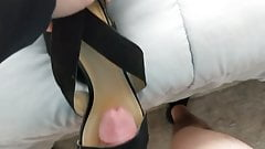 Fuck and Cum on MILF Guest's Shoes Heels part 5