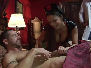 Xxx bouncy - Fleshy girl get ravished by two bouncy studs in a mmf sex