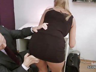 Vintage flour canister chef - Big tit german milf get hard fuck in office by chef
