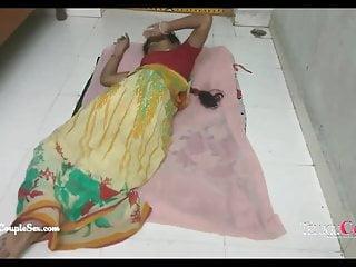 Asian walnut floor Desi indian village telugu couple romance, fucking on the floor
